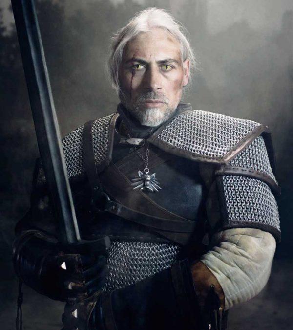 Cosplay de Geralt de Rivia