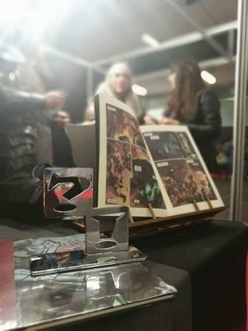 Premio Popular a la mejor obra 2017 al cómic Alma Cubrae, el cobrador de almas